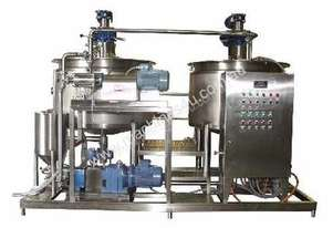 Cooking/Mixing Line (1000 L Cooker, In-Line Mill, Pump etc)