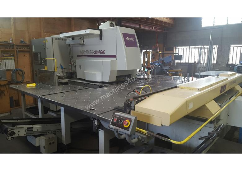Great condition Japanese made Muratec Punching machine still under power