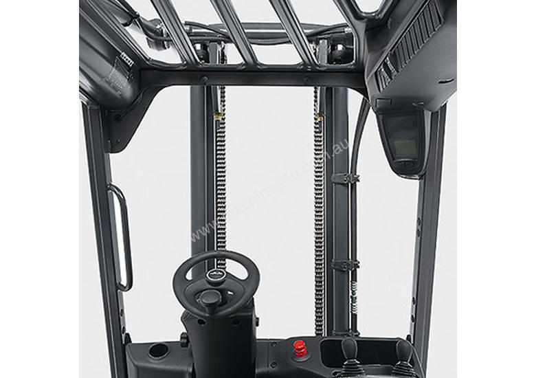 Linde Series 387 E20-E35 Electric Forklifts