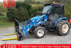1200kg Agricultural Pallet Forks to suit New Holland Tractors ATTFOK