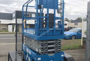 Refurbished  19FT Genie Scissor Lift for sale- SCISSOR LIFT AND NEW TRAILER PACKAGE