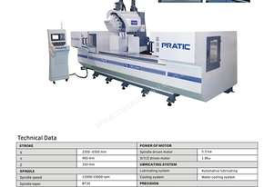 Profile Machining Centers for Industrial and Architectural Profiles and Other Long Materials