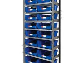 MSR-16 Industrial Modular Storage Shelving Package Deal 943 x 465.4 x 2030mm Includes 16 x BK-420 Pl - picture0' - Click to enlarge