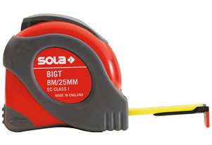 Sola Big T 8 Metre Tape Measure