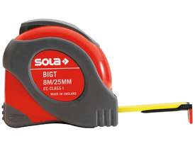 Sola Big T 8 Metre Tape Measure - picture2' - Click to enlarge