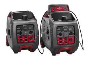 2 x Briggs & Stratton 3000w Inverter Generators