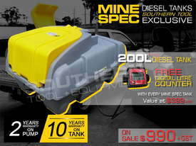 200L Diesel Fuel Tank 12V Italian pump TFPOLYDD - picture0' - Click to enlarge
