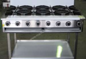 Complete BB-8 Eight Burner Cook Top