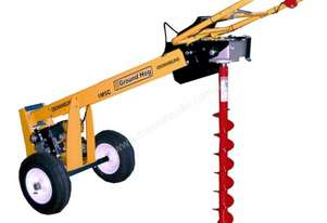 Crommelins Subaru One-Man Post Hole Digger with Wheels