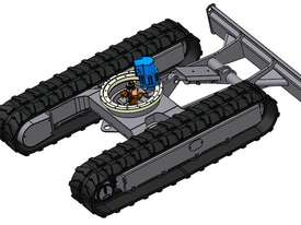 NEW SAMPIERANA 4T FIXED EXCAVATOR TRACK UNDERCARRIAGE - picture0' - Click to enlarge