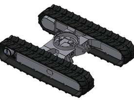 NEW SAMPIERANA 4T FIXED EXCAVATOR TRACK UNDERCARRIAGE - picture1' - Click to enlarge