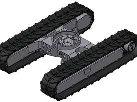 NEW SAMPIERANA 4T FIXED EXCAVATOR TRACK UNDERCARRIAGE - picture8' - Click to enlarge