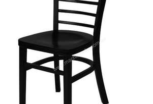 F.E.D. ZS-W02BL Black Classic wooden dining chair