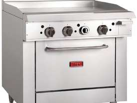 Thor GE544-N - Gas Oven Ranges with 900mm Griddle Natural Gas - picture1' - Click to enlarge