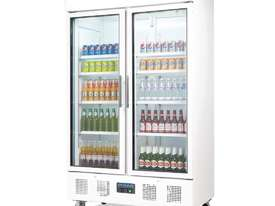 Polar CD984-A - Upright Display Chiller 944Ltr Double Door Fridge - picture1' - Click to enlarge