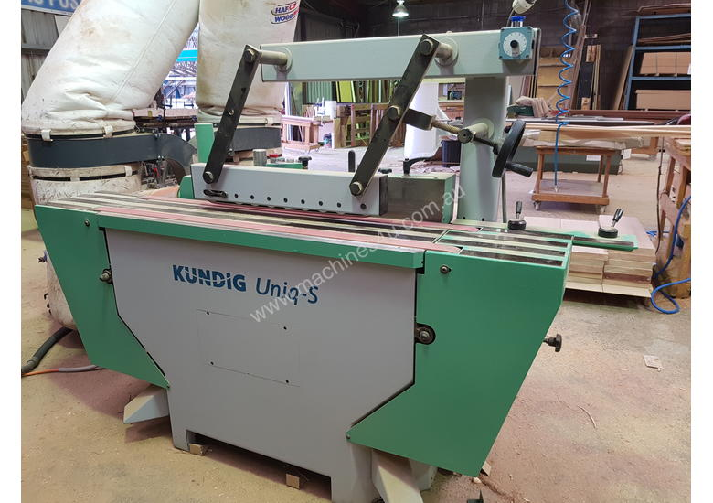 KUNDIG edgesander for Lacquer, Hi gloss, Veneer or solid timber