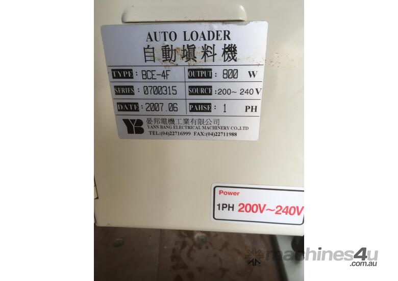 2007 AUTO-LOADER INJECTION MOULD TYPE BCE-4F