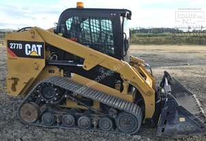 CAT 277D Tracked SSL, 1750hrs, new Tilting 4in1