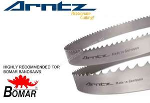 Bandsaw Blade for Bomar Model ERGONOMIC 290.250 GAE - Length 2910mm x Width 27mm x 0.9mm x TPI