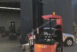 BT TOYOTA Electric Ride Reach Truck