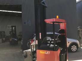 BT TOYOTA Electric Ride Reach Truck - picture0' - Click to enlarge