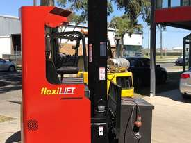 BT TOYOTA Electric Ride Reach Truck - picture1' - Click to enlarge