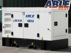 18 kVA Diesel Genset 240V - picture0' - Click to enlarge