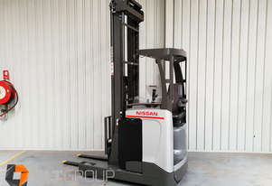 Nissan UMS160 1600kg Tonne 7950mm Lift Height Ride Reach Truck