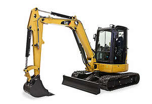 CATERPILLAR 305.5E2 CR MINI HYDRAULIC EXCAVATOR WITH SWING BOOM