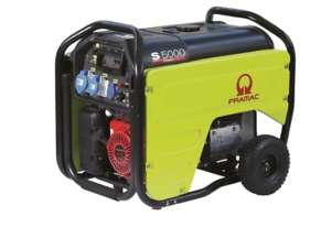 Pramac S5000 Electric Start, AVR HONDA powered portable 5.3 kVA generator