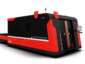 Bystronic DNE D-Fast 4020 3kW Fiber Laser Cutting Machine - Extended Tray 4m, IPG (YLS), Schneider - picture0' - Click to enlarge
