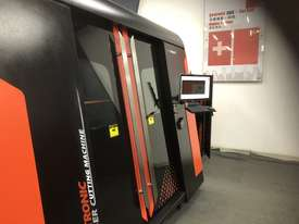 Bystronic DNE D-Fast 4020 3kW Fiber Laser Cutting Machine - Extended Tray 4m, IPG (YLS), Schneider - picture1' - Click to enlarge