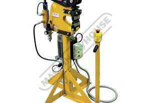 MSS-14H Hydraulic/Pneumatic Shrinker Stretcher Works On Flanges Up To 152mm Wide 2mm Mild Steel Capa