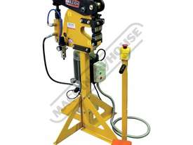 MSS-14H Hydraulic/Pneumatic Shrinker Stretcher 2mm Mild Steel Capacity - picture0' - Click to enlarge