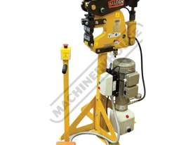 MSS-14H Hydraulic/Pneumatic Shrinker Stretcher 2mm Mild Steel Capacity - picture2' - Click to enlarge