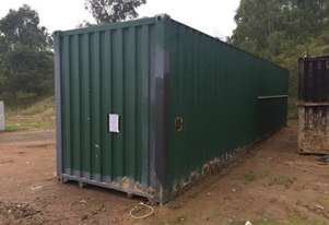 Converted Container – 12m - 2 rooms