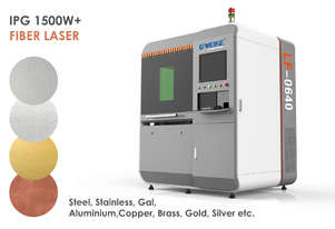 IPG 1500W Precision 600x400mm All Metal cutting Fiber Laser - Delivery/install included!