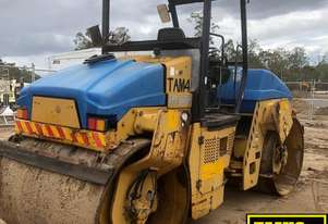 2003 Bitelli DTV370 Dual Smooth Drum Compaction Roller.  MS492