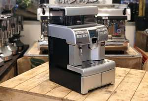SAECO AULIKA SILVER FULLY AUTOMATIC COFFEE MACHINE