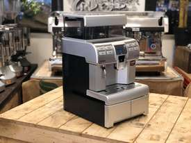 SAECO AULIKA SILVER FULLY AUTOMATIC COFFEE MACHINE - picture0' - Click to enlarge