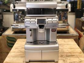 SAECO AULIKA SILVER FULLY AUTOMATIC COFFEE MACHINE - picture2' - Click to enlarge