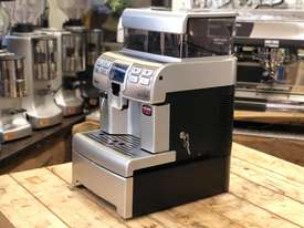 SAECO AULIKA SILVER FULLY AUTOMATIC COFFEE MACHINE - picture3' - Click to enlarge