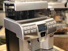 SAECO AULIKA SILVER FULLY AUTOMATIC COFFEE MACHINE - picture9' - Click to enlarge
