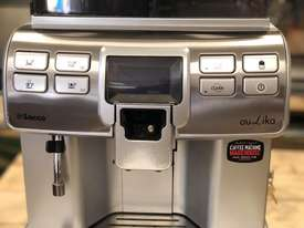 SAECO AULIKA SILVER FULLY AUTOMATIC COFFEE MACHINE - picture10' - Click to enlarge