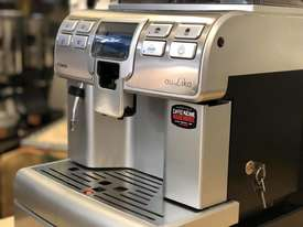 SAECO AULIKA SILVER FULLY AUTOMATIC COFFEE MACHINE - picture11' - Click to enlarge