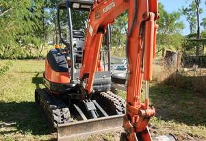 MUST SELL 2017 Kubota Excvator 2.5t Super Series with 222.5 hours