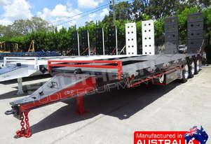 ELITE Tri Axle 28 Ton Tag Trailer BLK & RED ATTTAG