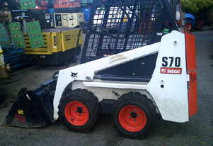 S70 bobcat , 2018 , 54 hrs , 4in1 bucket , as new condition