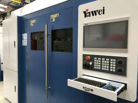 ** In stock **  Book a demo now. NEW Yawei 2kW HLE-1530 Fiber Laser with IPG, Beckhoff CNC & Drives - picture1' - Click to enlarge