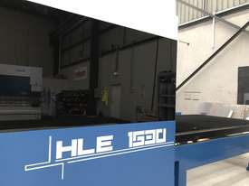 ** In stock **  Book a demo now. NEW Yawei 2kW HLE-1530 Fiber Laser with IPG, Beckhoff CNC & Drives - picture3' - Click to enlarge